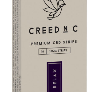 RELAX 10mg cbd Blackberry Lemon 10 strips